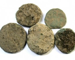 PARCEL UNCLEANED ROMAN COINS OVER1500 YEARS OLD OP156
