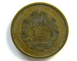ROMANIAN 5 BANI COIN 1953   J71