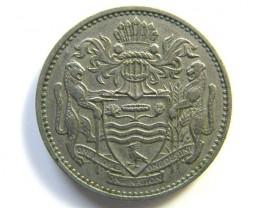 25 CENTS GUYANA COIN 1967    J 103