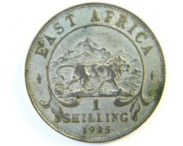 BRITISH EAST AFRICA 1 SHILLING 1925   J 114