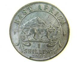 BRITISH EAST AFRICA 1 SHILLING 1942 J115