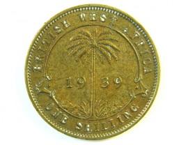 BRITISH EAST AFRICA 1 SHILLING 1939   J 120