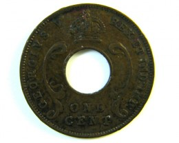 BRITISH EAST AFRICA 1 CENT  1935  J 122