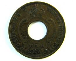 BRITISH EAST AFRICA 1 CENT  1935  J 122