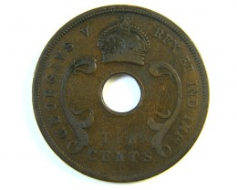 BRITISH EAST AFRICA 10 CENTS 1925   J 127