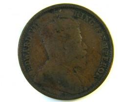 HALF CENT CEYLON 1905  J 131