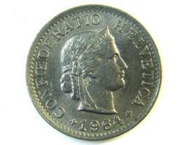 5 FR SWITZERLAND  1964  J 139