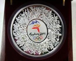 RARE SYDNEY OLYMPIC 2000 KILO SILVER COIN