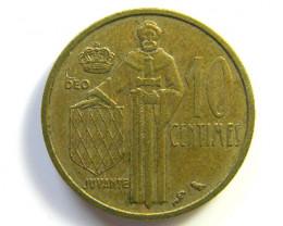 MONACO 10 CENT 1962    J 178