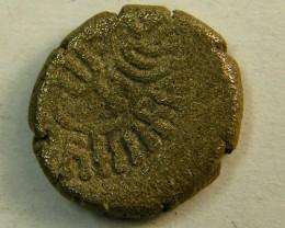 MAITRAKAS OF VALABHI C 470-800AD   AR DRACHM   OP157
