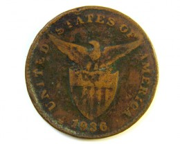 ONE CENT PHILIPPNES 1936 J190