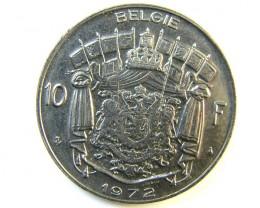 10 FRANCS BELGIUM 1972  J 197