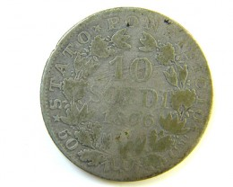 VATICAN CITY COIN 1866   J 198