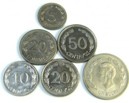 Ecuador Coins
