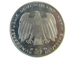 WEST GERMANY 1983  5 MARK   J 207