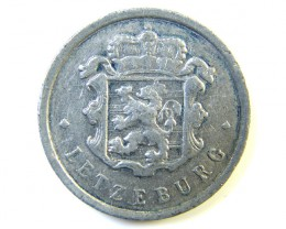 1963 25 CMES LUXEMBORG COIN J 209