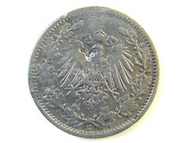 ONE MARK GERMAN COIN 1906  J 213