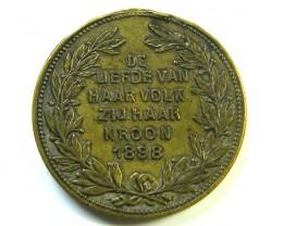 DUTCH MEDAL 1898   J 228