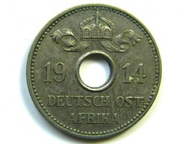 German East Africa Coins