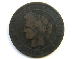 10 C 1876 FRANCE  J 243
