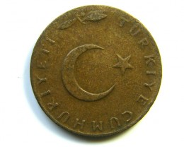 5 KURUS TURKEY COIN 1967  J 247