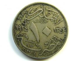 1924 EGYPT COIN J 270  J