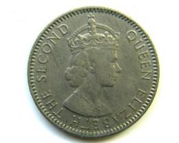 1/4 RUPEE MAURITIUS 1960 COIN  J 274