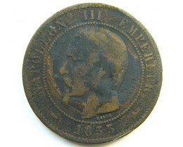 1853 FRANCE COIN   J 278