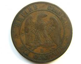 1855 FRANCE COIN   J 279