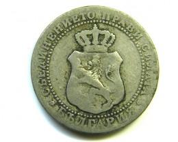 BULGARIA 5 CT 1888  J 296
