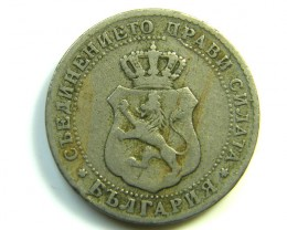 10 CBULGARIA 1888  J 297