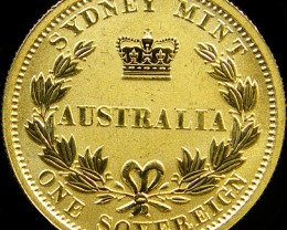 PROOF SYDNEY MINT FULL SOVERIGN 2005  CO 30