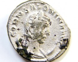 ROMAN PROVINCIAL SILVER SALONINA ANTONINIANUS AC4