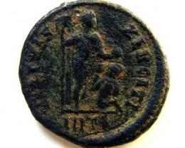 ROMAN PROVINCIAL COIN  VALENTINIANUS 11     CODE  AC49