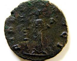 ROMAN PROVINCIAL COIN  CLAUDIUS GOTICUS A   CODE  AC 55
