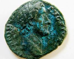 LARGEROMAN PROVINCIAL COIN   ANTONINUS PIUS     CODE  AC 61