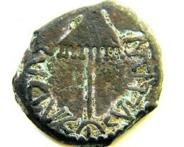 Agrippa I circa 44 AD, King of Judea CODE AC 129