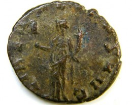 bronze antoniniani of Claudius II (268-270 A  D)     AC 163