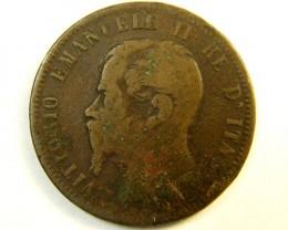 ITALY 10 CENTESIMO  1867  OP 223