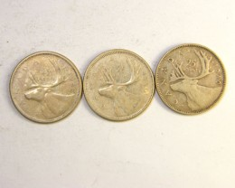 SILVER COINS  .800  SILVER CANADA 1.50 PER GRAM OP 228