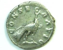 Faustina Minor. AR Denarius CONSECRATIO Rome 176 AC200