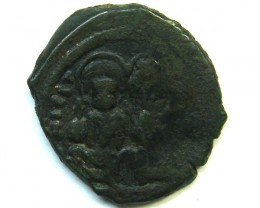 LOT 1 Byzantine Bronze coin AC212