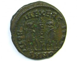 Constantine I Two soldiers Nicomedia 335-337 AD AC221