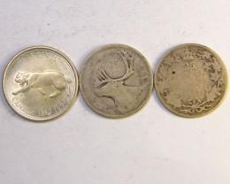 SILVER COINS  .800  SILVER CANADA 1.50 PER GRAM OP231