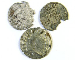 ANCIENT SPAIN L1, CASTILE & LEON NINE DIN 1284-1295 AC255