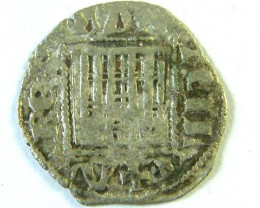 ANCIENT SPAIN L1, CASTILE & LEON CORONADO SANCHO IV AC274