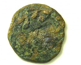 ANCIENT BIBLICAL L1, FIRST REVOLT PRUTAH COIN AC304