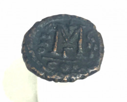 ANCIENT BYZANTINE L1, JUSTIN II & SOPHIA FOLLIS AC315