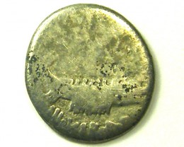 ANCIENT ROMAN IMPERIAL L1, MARK ANTHONY DENARIUS COIN AC322