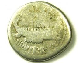 ANCIENT ROMAN IMPERIAL L1, MARK ANTHONY DENARIUS AC326